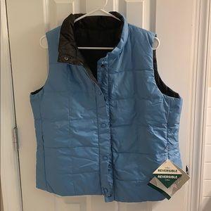 Reversible LL Bean puffer vest